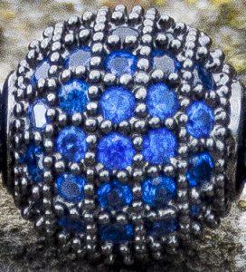 Blue CZ Diamonds Close-up