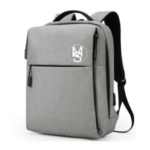 Multifunctional Anti-Theft Backpack - Light Grey Image