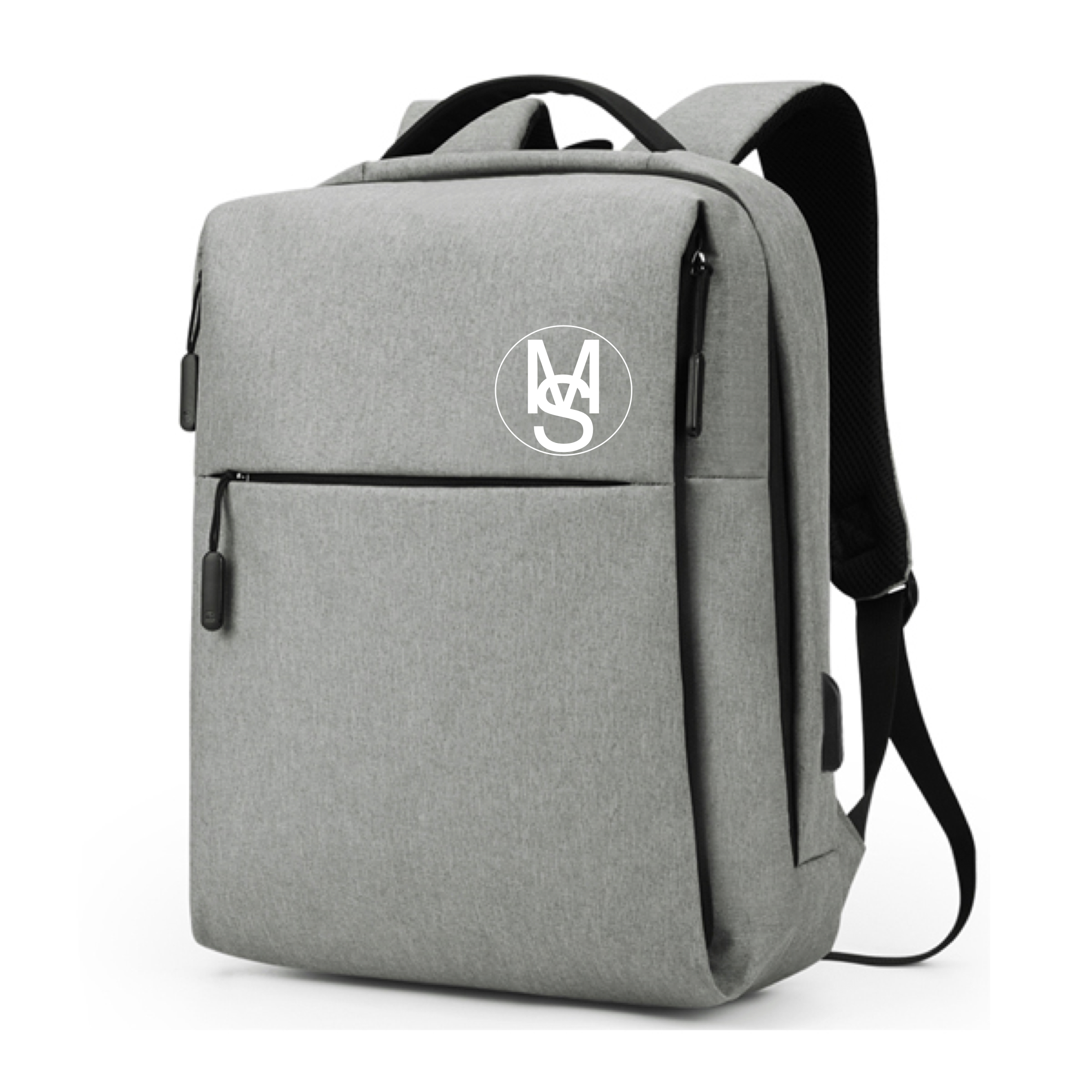 Multifunctional Anti-Theft Backpack - Light Grey Image