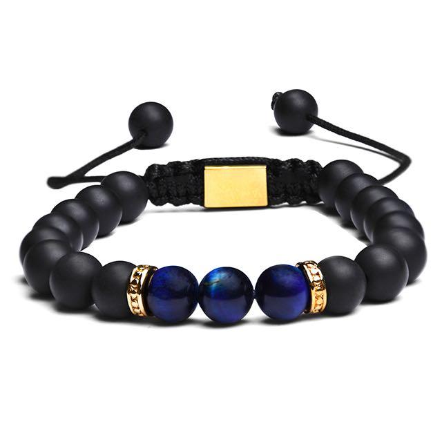 Gold Blue Imperial Bracelet