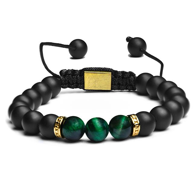 Gold Green Imperial Bracelet