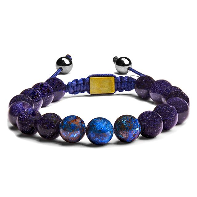 Shattuckite Chrysocolla Galaxy Bracelet