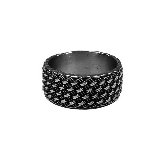Stainless Steel Braided Titus Ring