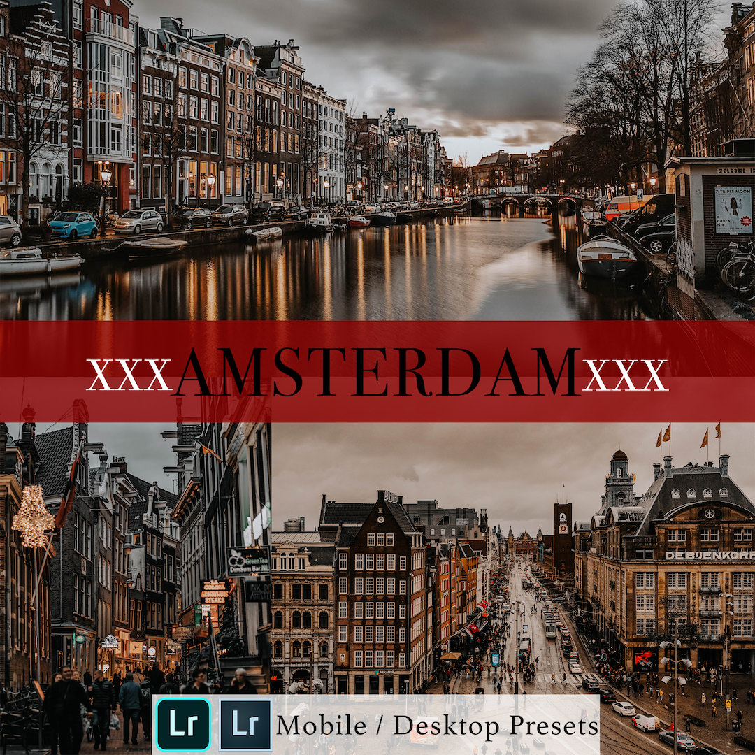 Michael Sousa Amsterdam Presets Cover