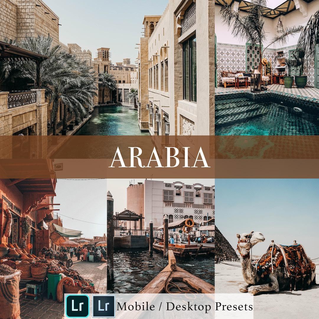 Michael Sousa Arabia Presets Cover