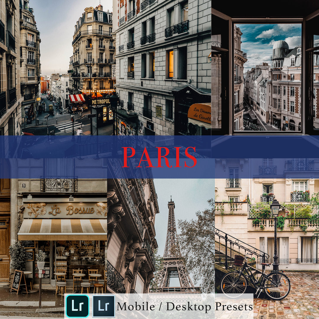 Michael Sousa Paris Presets Cover